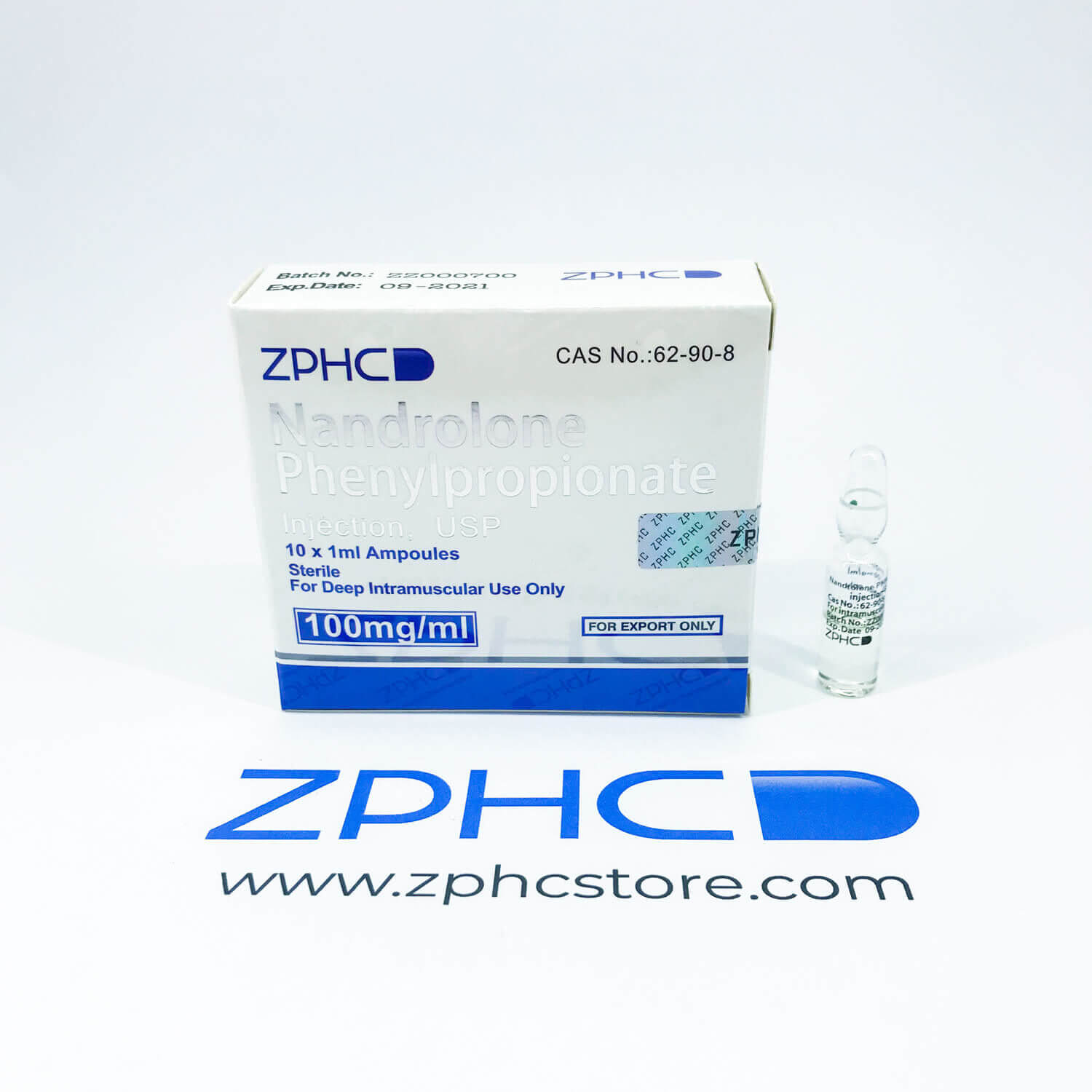 Anabolic Steroid Nandrolone Phenylpropionate, Phenyl amps ZPHC zphcstore.com