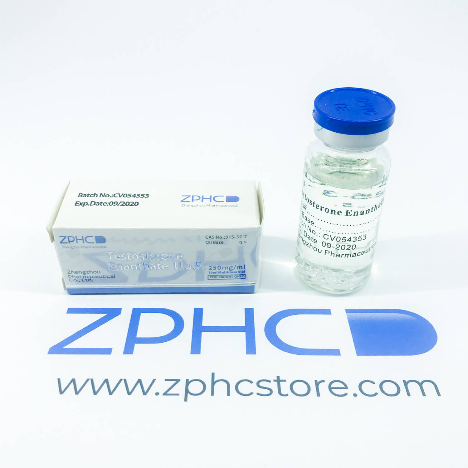 Testosterone Enanthate 250mg/ml ZPHC