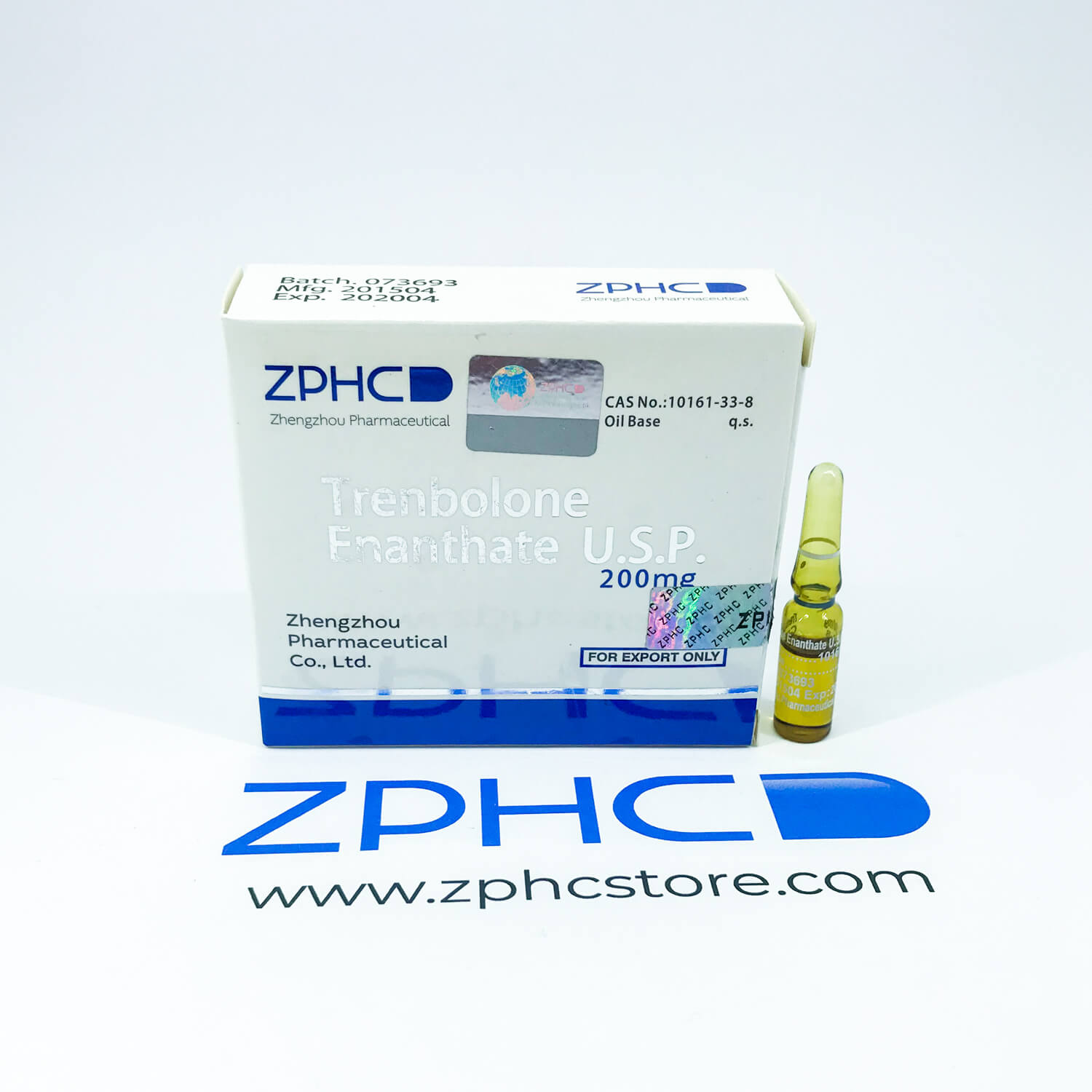 Trenbolone Enanthate 200mg/ml amps ZPHC