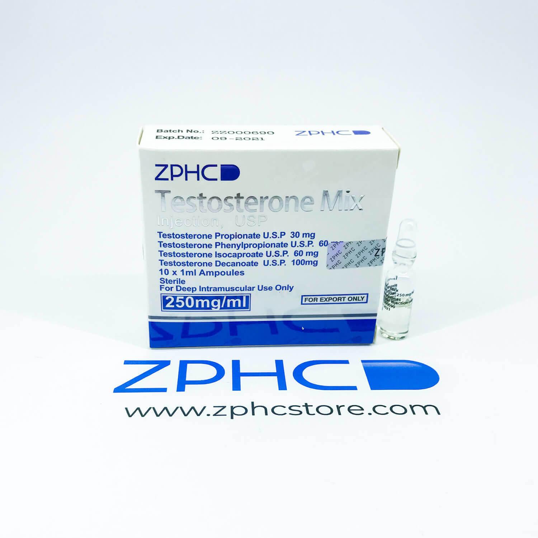 Testosterone Mix, Sustanon amps ZPHC zphcstore.com