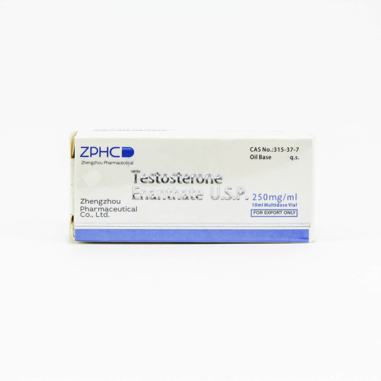Testosterone Enanthate 250mg/ml ZPHC USA domestic