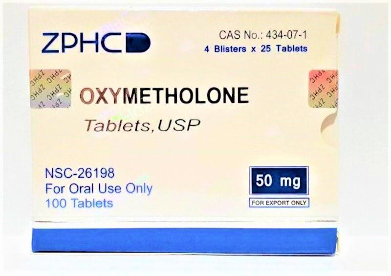 Anadrol (oxymetholone) tabs ZPHC