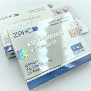 Arimidex Anastrozole 1mg tablet USA ZPHC
