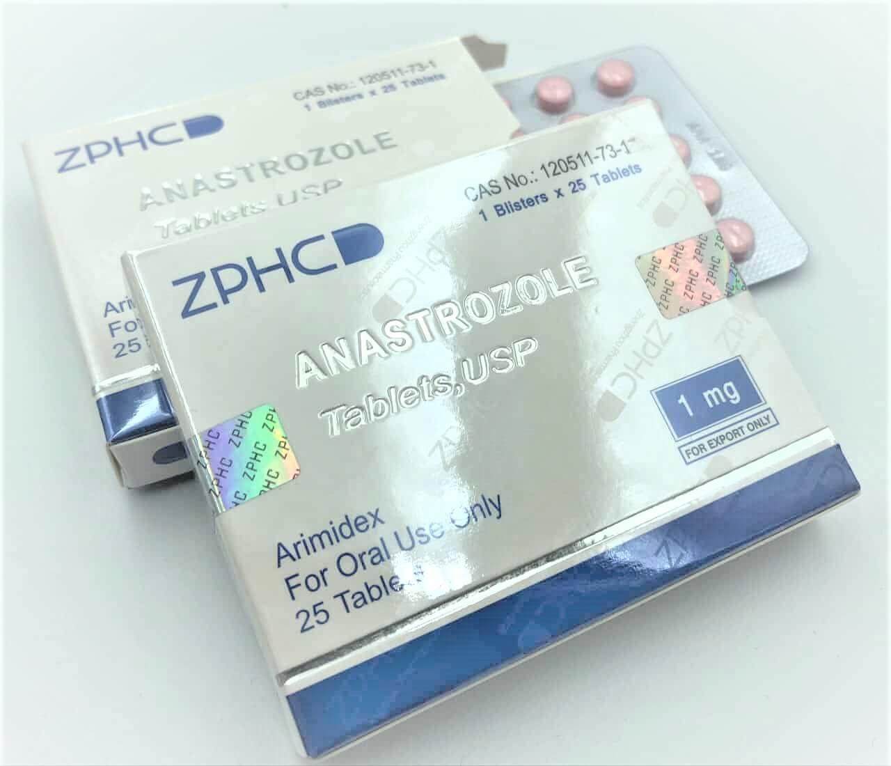 Arimidex Anastrozole 1mg tablet USA ZPHC