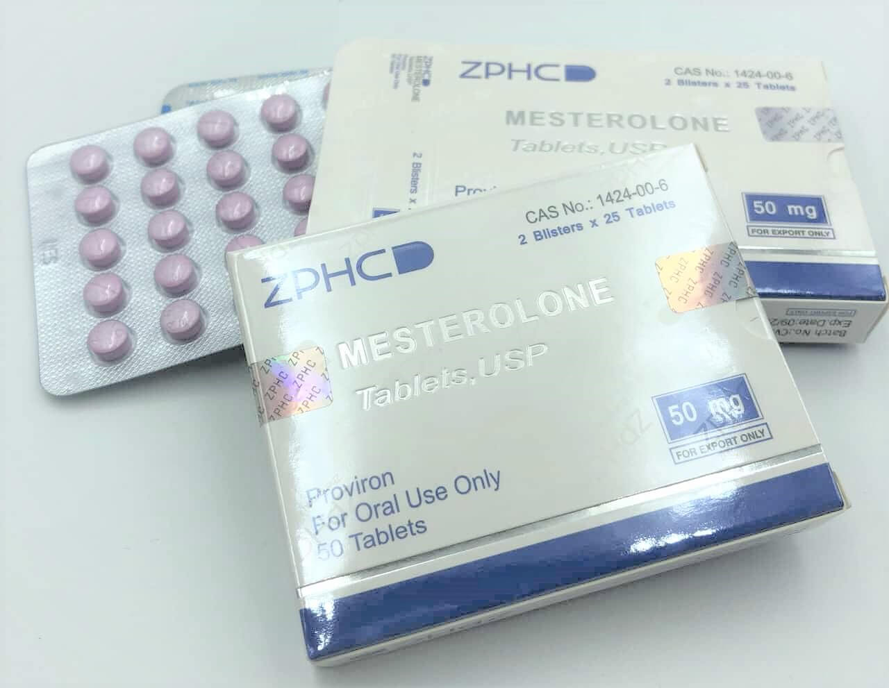 Proviron (Mesterolone) 50 tablets USA ZPHC