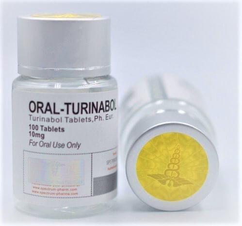 Turinabol USA domestic Spectrum Pharma